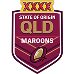 Nouveau Maillot Queensland Maroons Rugby 2016 Domicile replica